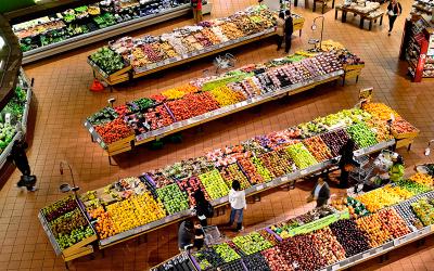 EVODATA 300 con sondas inalámbricas para supermercado